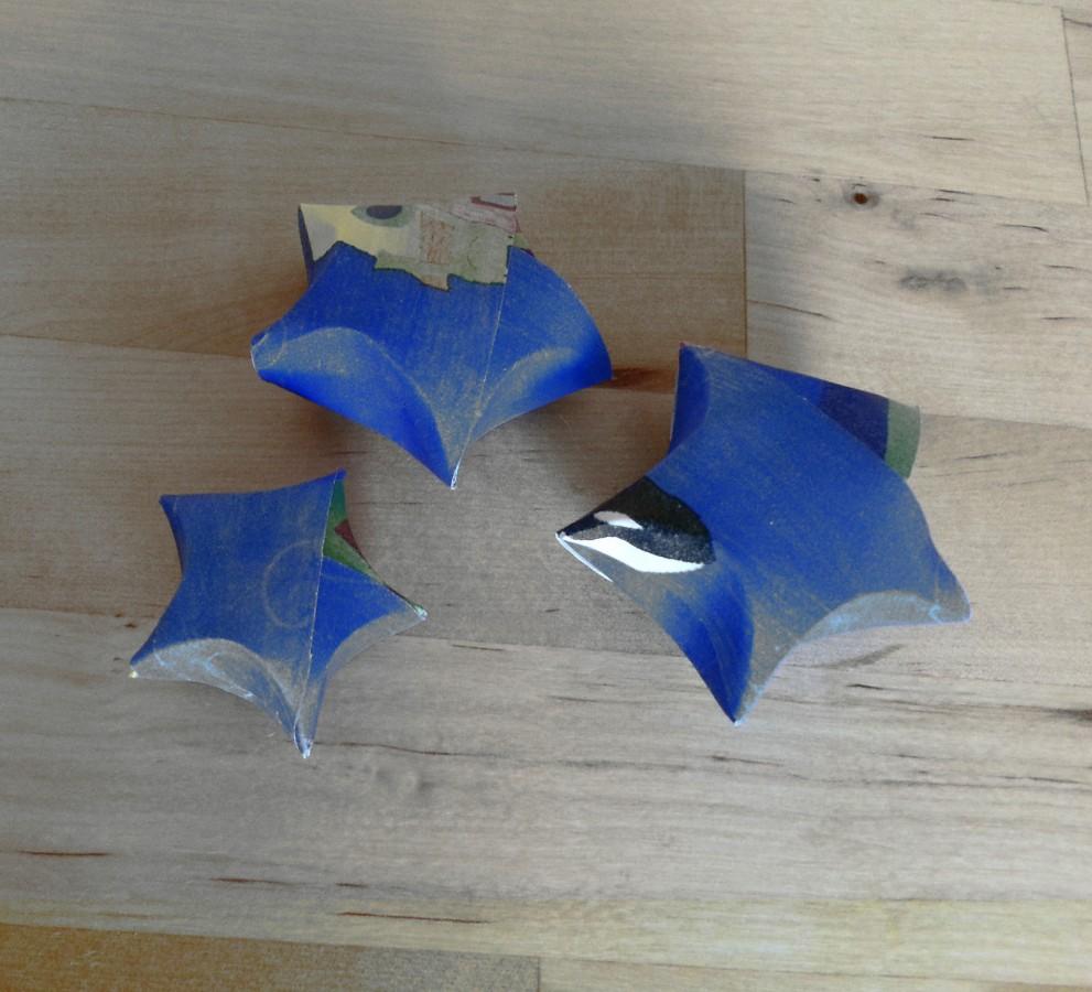 Stelline origami per Natale