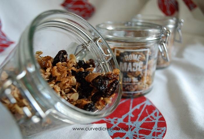 Granola fatta in casa, sana e veloce